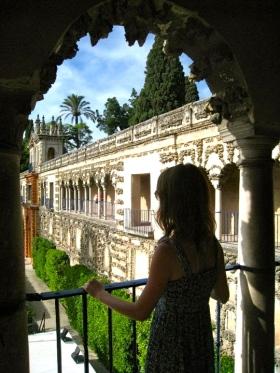 Lindsey in Sevilla